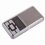 Карманные ювелирные электронные весы до 500 грамм, фото 2