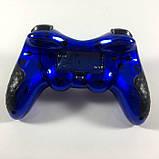 Беспроводной Джойстик 6 в 1 для ПК/PS2/PS3/PC360/ANDROID TV/WIN10 вибро Синий, фото 2