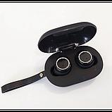 Беспроводные стерео наушники Gorsun V7 Bluetooth + бокс ЧЁРНЫЕ, фото 3