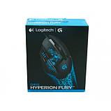 Игровая компьютерная мышь проводная Logitech G402 Hyperion Fury Чёрная (Реплика), фото 6