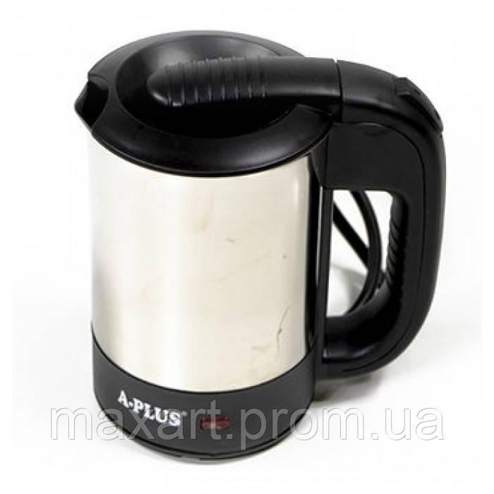 Дорожный электрический чайник А-Плюс Ek-1700 0,5л с чашками