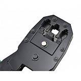 Клещи обжимные OB-315  (кримпер) для опрессовки штекера витой пары, фото 6