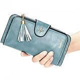 Женский кошелек, портмоне Baellerry N2341 Тёмно-голубой, фото 2