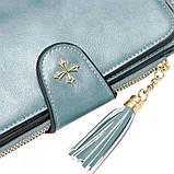 Женский кошелек, портмоне Baellerry N2341 Тёмно-голубой, фото 3