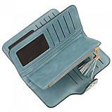 Женский кошелек, портмоне Baellerry N2341 Тёмно-голубой, фото 4