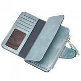 Женский кошелек, портмоне Baellerry N2341 Тёмно-голубой, фото 5