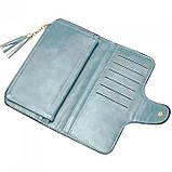 Женский кошелек, портмоне Baellerry N2341 Тёмно-голубой, фото 7