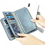 Женский кошелек, портмоне Baellerry N2341 Тёмно-голубой, фото 8