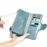 Женский кошелек, портмоне Baellerry N2341 Тёмно-голубой, фото 9