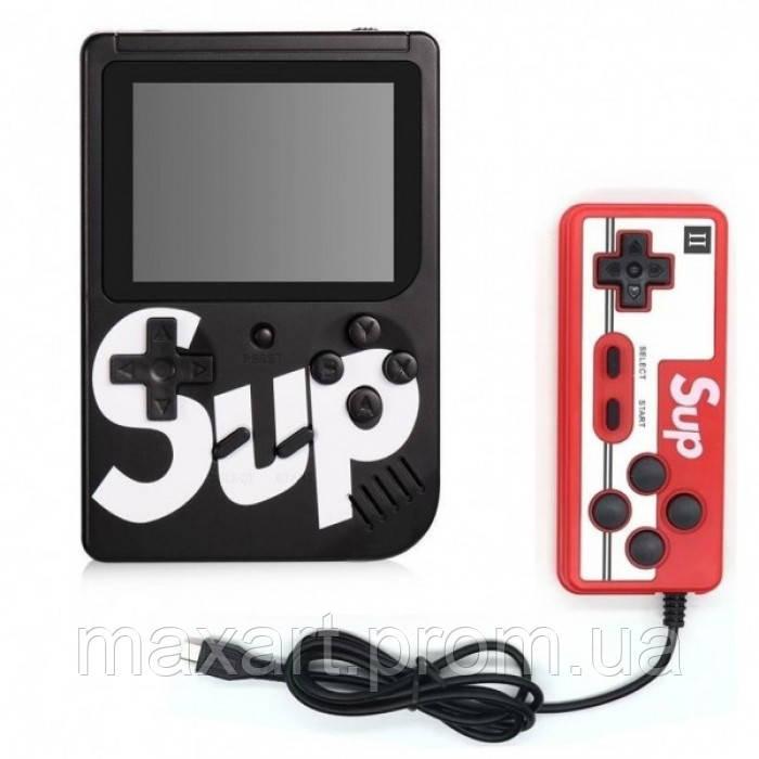 Игровая консоль приставка с дополнительным джойстиком dendy SEGA 168 игр 8 Bit SUP Game черный