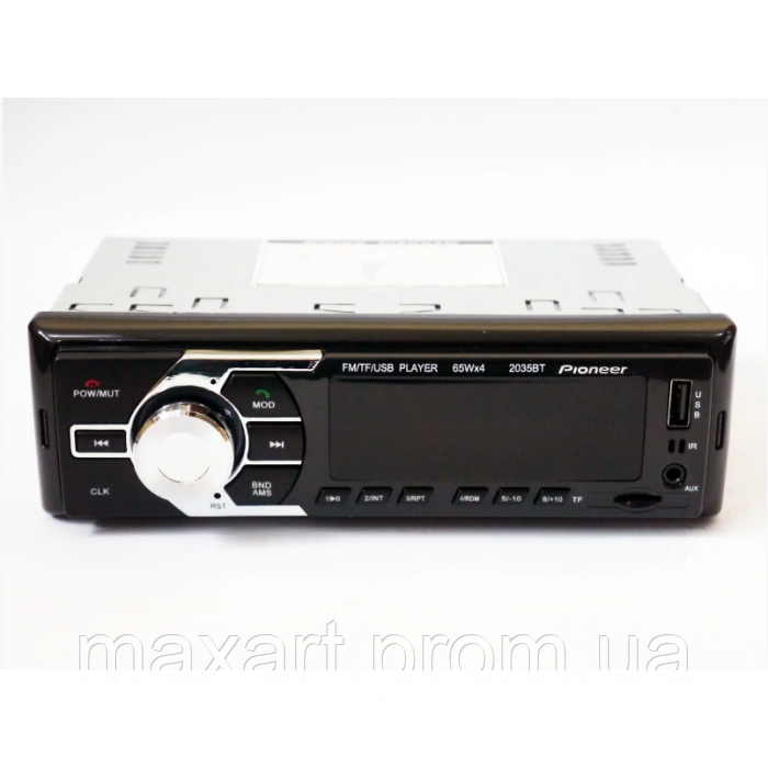 Автомагнитола 2035BT Bluetooth+USB+SD+AUX 4x60W