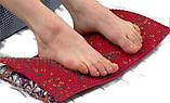 Аппликатор Ляпко Коврик Большой 7,0 Ag размер 275 х 480 мм массажер игольчатый на всю спину Красный, фото 9