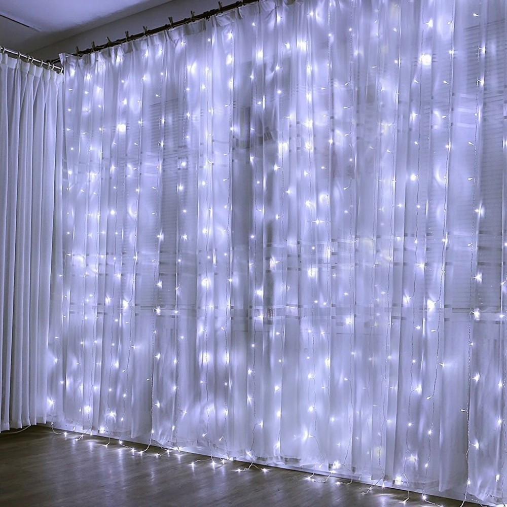 Гирлянда Водопад LTL 320 LED 3*3m Белая