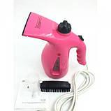 Вертикальный ручной отпариватель для одежды RZ608 утюг, паровой утюг Розовый, фото 3