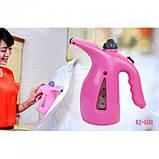 Вертикальный ручной отпариватель для одежды RZ608 утюг, паровой утюг Розовый, фото 5