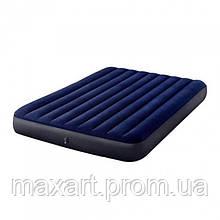 Матрас Intex 64765 152х203х25 см синий
