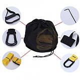 Подвесной фитнесс-тренажер (тренировочные петли) Fitness Strap Training, фото 4