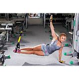 Подвесной фитнесс-тренажер (тренировочные петли) Fitness Strap Training, фото 5