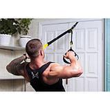 Подвесной фитнесс-тренажер (тренировочные петли) Fitness Strap Training, фото 6
