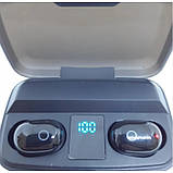 Наушники вакуумные беспроводные J16 BT LCD+POWERBANK Чёрные, фото 3