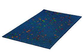 Аплікатор Ляпко Килимок Великий 7,0 Ag розмір 275х480 мм масажер голчастий акупунктурний на всю спину Синій