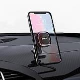 Автомобильный держатель телефона HOCO CA53 Intelligent для приборной панели, фото 4