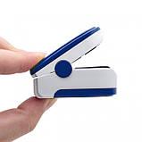 Пульсометр оксиметр на палец (пульсоксиметр) LYG-88 LED, фото 5