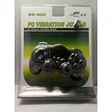 Беспроводной bluetooth джойстик для ПК PC GamePad DualShock вибро EW-800, фото 4