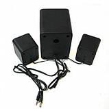 Компьютерные колонки акустика 2.1 FT-202 с сабвуфером Белые, фото 5