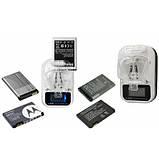 Зарядное устройство зарядка адаптер LCD Жабка HY02 c USB и экраном, фото 8