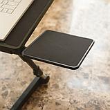 Регулируемая Подставка для ноутбука кулер столик с охлаждением AIR SPACE ЧЁРНЫЙ, фото 7