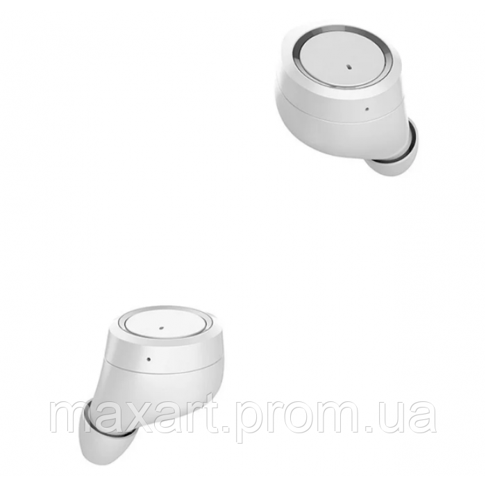 Беспроводные стерео наушники Gorsun V7 Bluetooth + бокс БЕЛЫЕ
