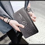 Мужской Клатч ALIGATOR bag ZQ850 черный, фото 3
