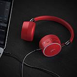 Беспроводные Bluetooth стерео наушники Gorsun GS-E95 Красные, фото 2