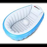 Надувная ванночка INTIME BABY YT-226A Синий, фото 2