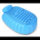 Надувная ванночка INTIME BABY YT-226A Синий, фото 5