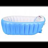 Надувная ванночка INTIME BABY YT-226A Синий, фото 6