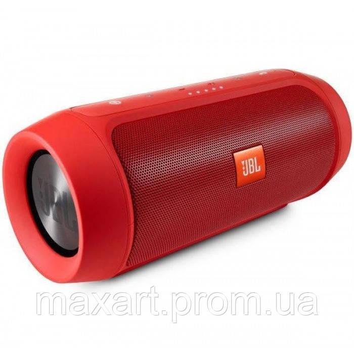 Портативная bluetooth колонка спикер JBL Charge 2 FM, MP3, радио Красная