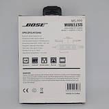 Беспроводные Вluetooth стерео наушники BOSE MS 999 с разъемом micro SD Белые, фото 2