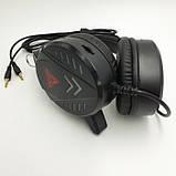 Наушники проводные A1 игровые с микрофоном Чёрные, фото 3