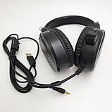 Наушники проводные A1 игровые с микрофоном Чёрные, фото 4