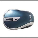 Мышка беспроводная оптическая G179 мышь Синяя, фото 2