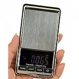Карманные ювелирные электронные весы 0,01-200 гр с чехлом, фото 2