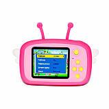 Детский цифровой фотоаппарат Розовая Пчелка 2 Камеры Children`s fun Original  20Мп Full HD 1080p, фото 3