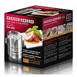 Ветчинница Redmond RHP-M02 пресс форма для ветчины, нержавеющая сталь, фото 5