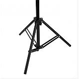 Стойка штатив-тринога STAND для установки студийного освещения и накамерных вспышек 70-210 см, фото 2