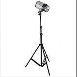Стойка штатив-тринога STAND для установки студийного освещения и накамерных вспышек 70-210 см, фото 3