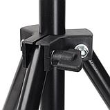 Стойка штатив-тринога STAND для установки студийного освещения и накамерных вспышек 70-210 см, фото 7