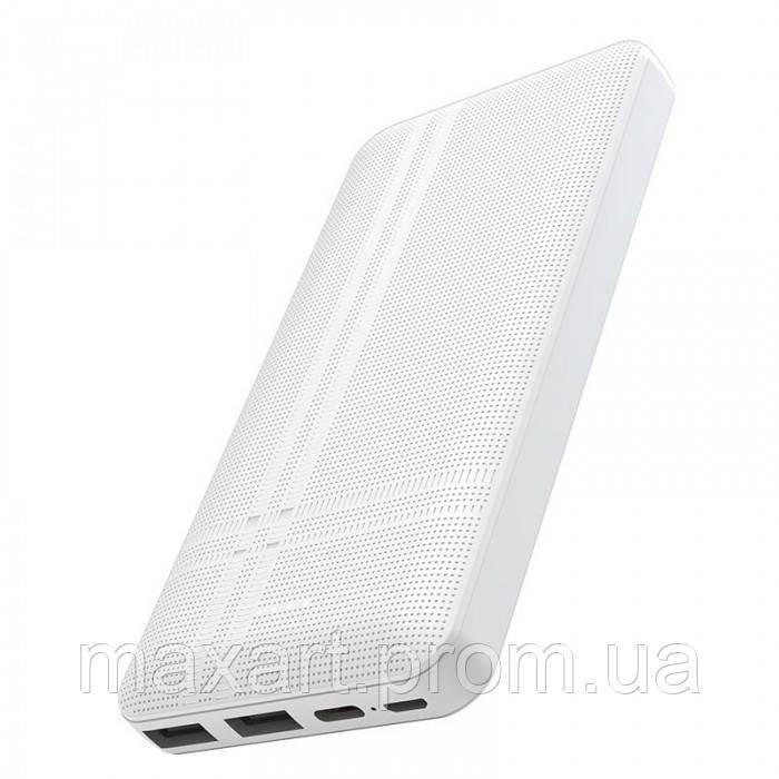 Внешний аккумулятор Hoco J48 Nimble 10000 Mah батарея зарядка Белый