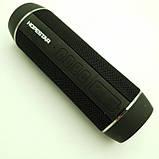 Портативная Bluetooth Колонка HOPESTAR P11 + Фонарь + Велосипедное Крепление Чёрный, фото 2